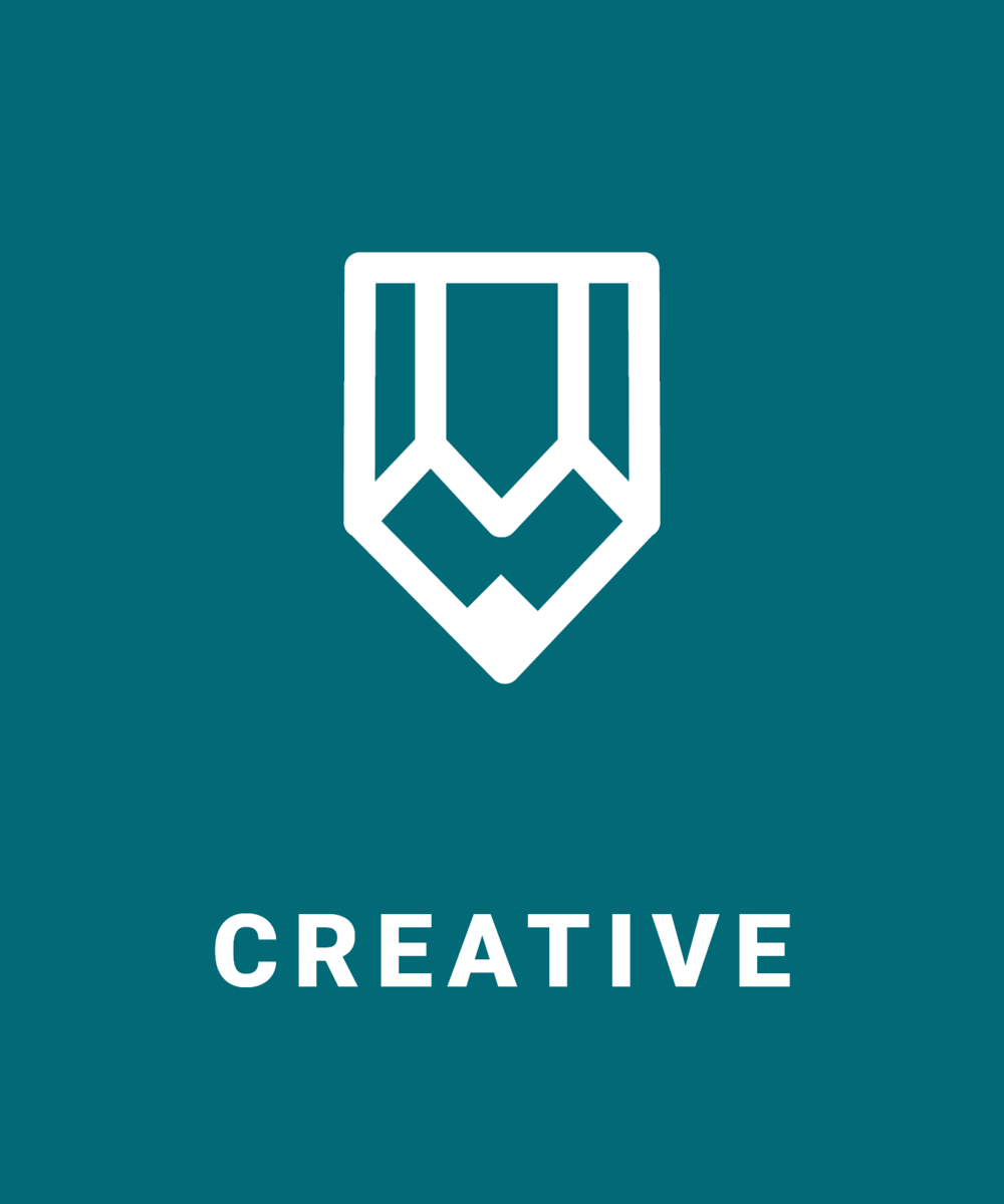 Creative Services to Maximize Your Brand   Creativity and design are instrumental parts of how your brand is received online. Our creative team members are experts in creating content that fits within your brand guidelines and performs well online. Our creative services range from: graphic design, brand development, product photography and copywriting.