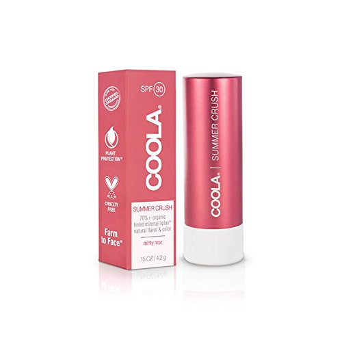 """The most comfortable lip sunscreen with excellent colors.""  $18"