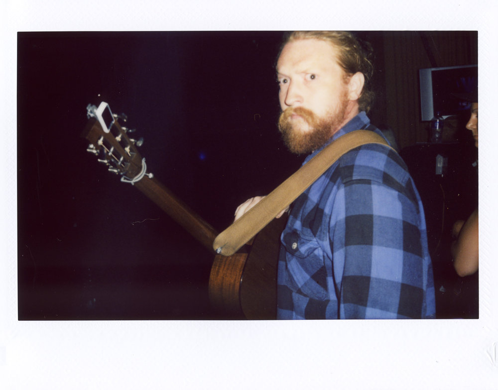 Tyler Childers taking the stage