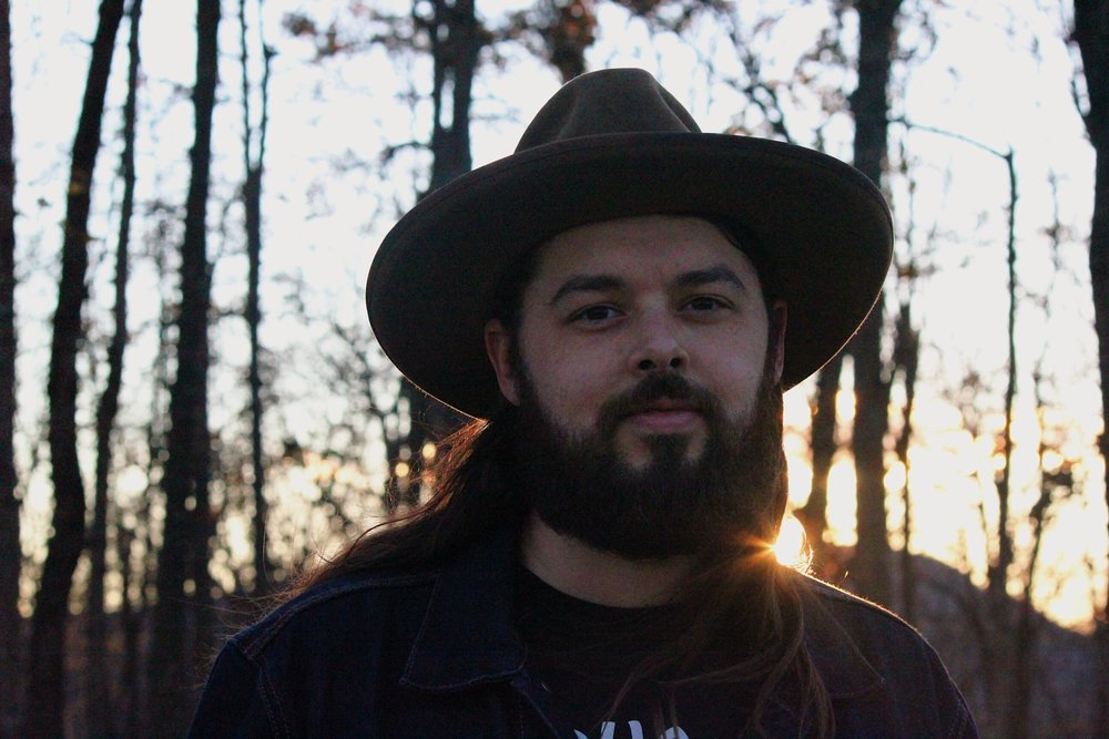 Caleb Caudle at Hanging Rock State Park