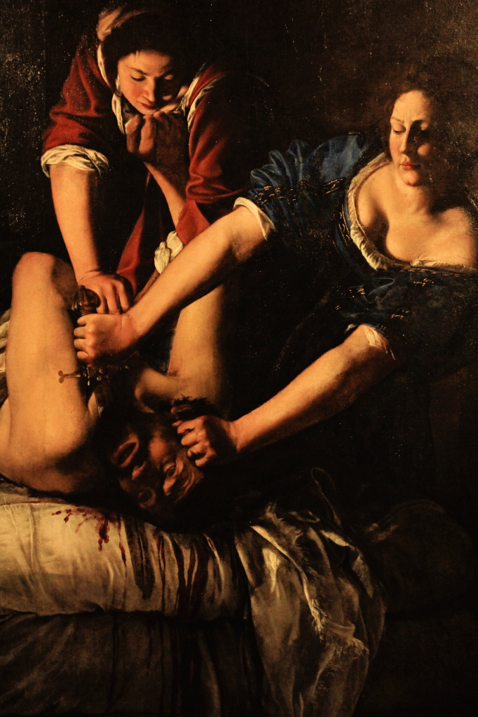 Judith Beheading Holofernes Artemisia Gentileschi (Roma 1593 - Napoli 1652/53) 1620 c. The Uffizi - (permanent collection) Room 90, Oil on canvas