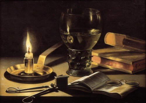 Still life by  Pieter Claesz , 1629