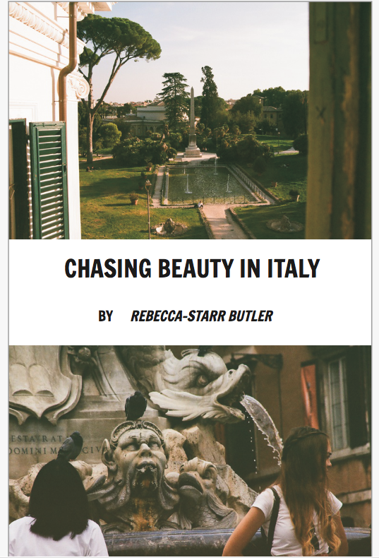 - from Chasing Beauty In Italy