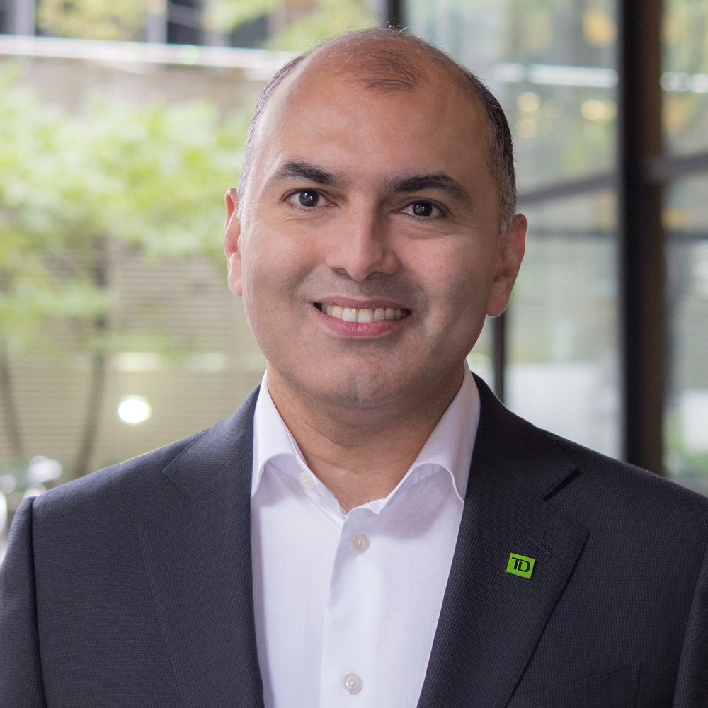 Rizwan Khalfan - EVP, Chief Digital and Payments Officer at TD Bank Group
