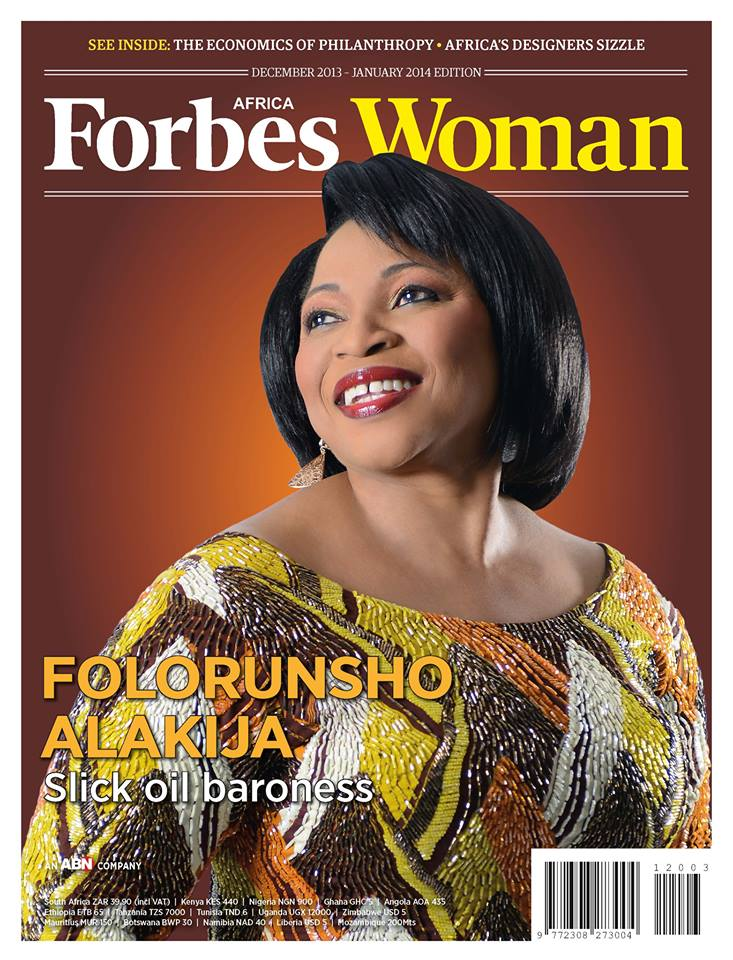 Mama Alakija - I forgot to mention that she is also the pastor of her own church and gives advice for marriage.
