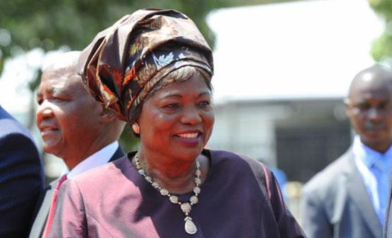 Mama Ngina Kenyatta - She is more than 84 years old.