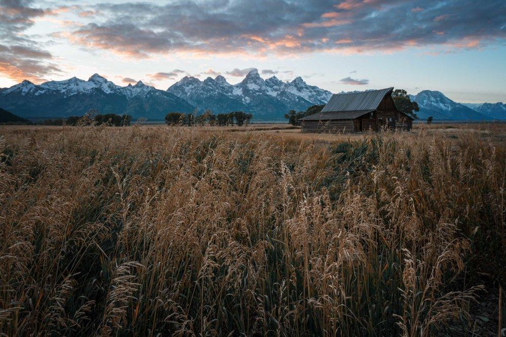 Moulton Barn: Grand Tetons