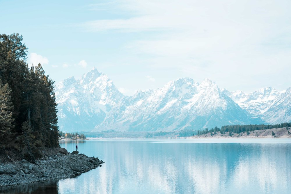 Jackson Lake: Grand Tetons
