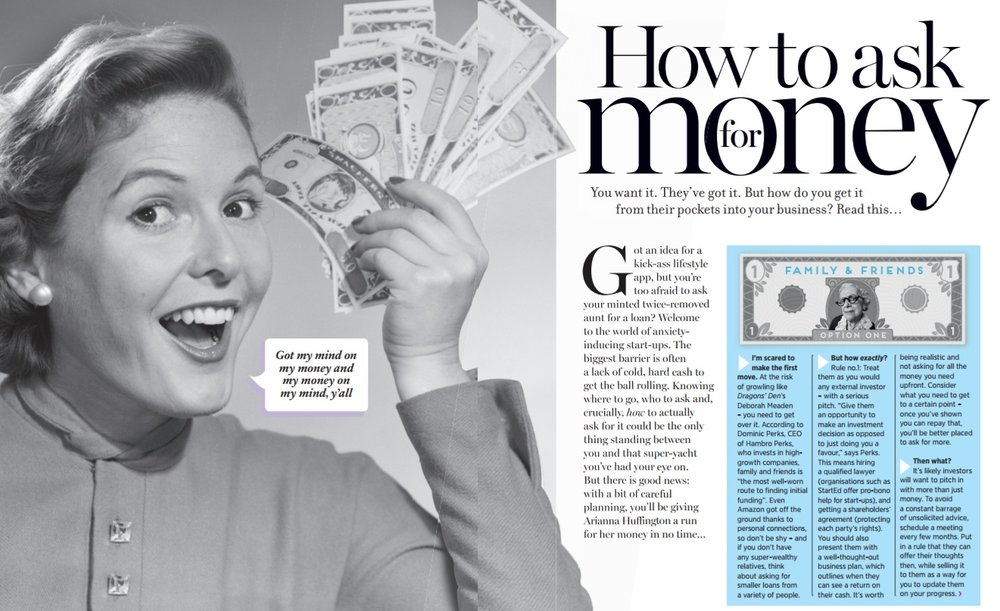 How to ask for money (to start a business) - Cosmopolitan