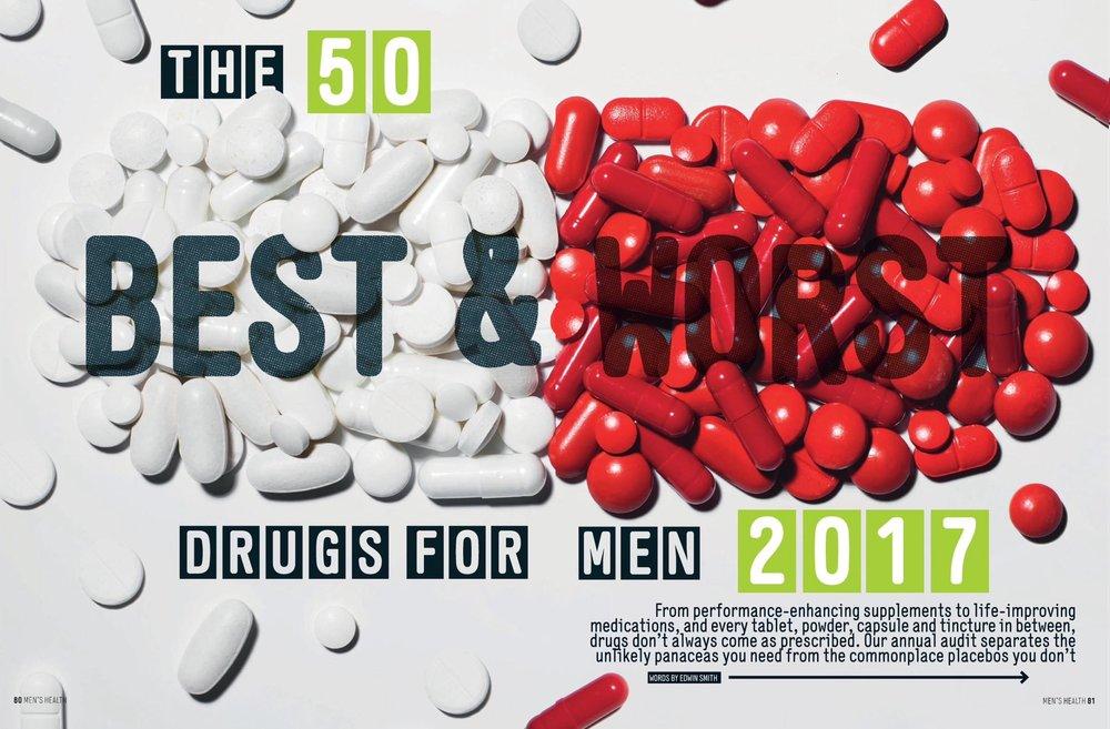 The 50 best & worst drugs for men in 2017 - Men's Health