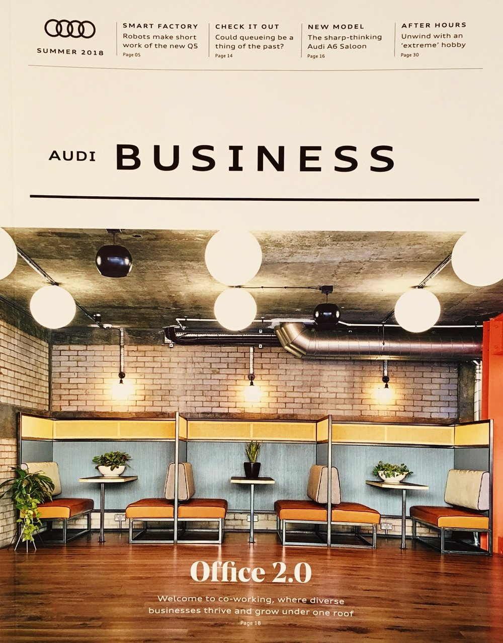 Co-working cover story - Audi Business