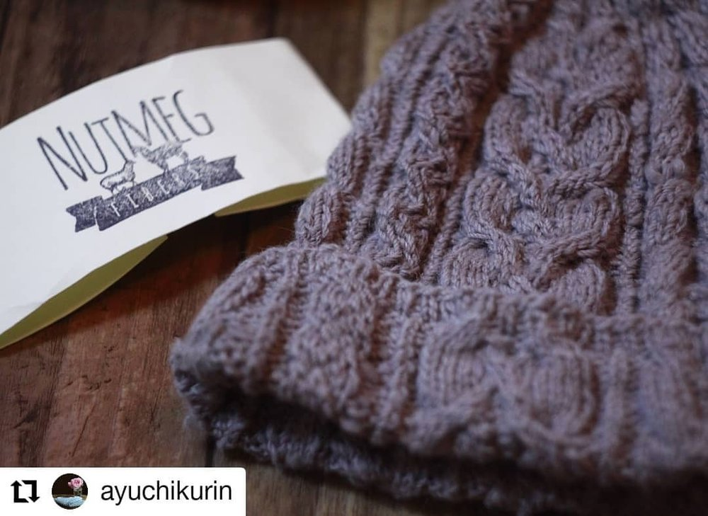 Look at this stunning hat!!!! Made in our Retreat Lilac Heather colorway, I believe…It's a repost. Well done @ayuchikurin this is stunning!!!    #Repost @ayuchikurin  • • •  。  *  とんがり帽子  毎日の手編み小物p15ページ  糸→NUTMEG  アルパカ50%  メリノ50%  針→輪針4号、6号  *  こないだ @eylulkilim  さんで購入  nutmegの糸  やっぱり実物触って  見て選んだら違うね~  悩んでこの微妙な色合いにして良かった。  アルパカ混じりにして良かった♡♡  毛糸選び楽しいし  それを作品に変えるのも楽しい!  お値段良いので1カセしか買ってこなかったけど  もっとたくさん買えばよかった…  最高に良い毛糸だったわ♡♡  なんたって手紡の素朴感たまらない♡♡  *  *  #yarnlove   #handmade   #knittingaddict   #nutmeg  #とんがり帽子  #knitting  #knit  #手編み  #編み物好きさんとつながりたい   #編み物   #nutmegfibers