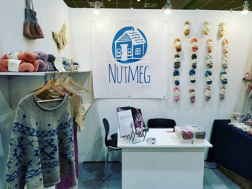 Yesterday was unfortunately a story of me in bed with stomach issues. But today I'm back at it, in Booth p121, with so many amazing makers around! Come visit!!!  (at Seoul, South Korea)