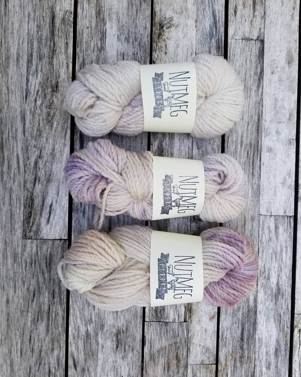 Thinking of projects while I'm away on this trip. There are still a few left of this special colorway, Bleeding Heart, shown here in our Cabin Base. What ya gonna turn into, yarn? #nfsummer2018 #cabin #limitededition #goodthings