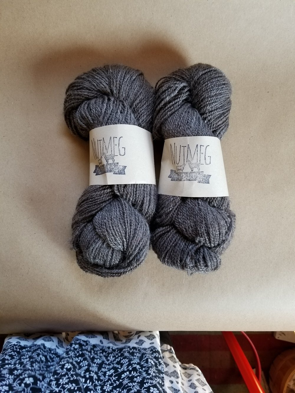 Sending off my last two skeins of our Nutmeg Fibers Farm Fibers' first batch from 2 years ago. It's a bit emotional remembering how this whole journey has begun, is currently happening, and how I hope it continues. I hope someone will love these as much as I did!