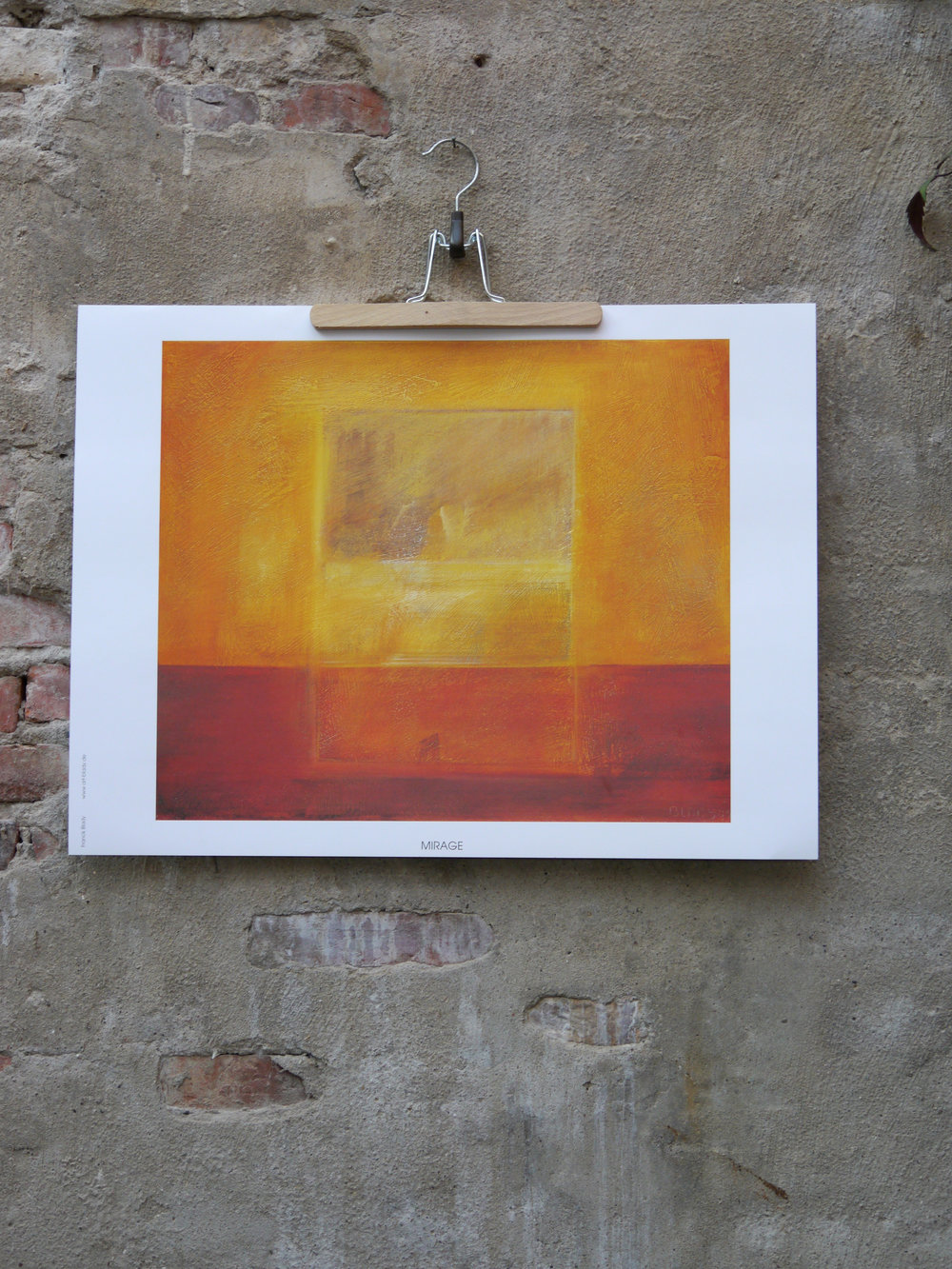 Mirage               -  47 x 63 cm, 30 Euro.                 Shop now.