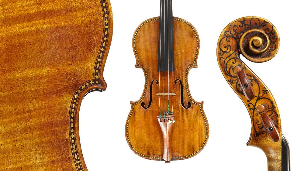 'Hellier' Stradivari copy.