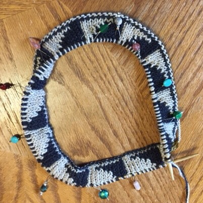 CURRENT CLASSES & EVENTS  - Double Knit Cowl September 15, 10:00am-2:00pm | $40 + materials | Sandy BuzzelliWhile there are many ways to add colors and motifs to your knitting — intarsia, color stranding, and mosaic knitting, to name a few — double-knitting might just be the most intriguing of all!Double-knitting creates a two-color, double-layer fabric that is knit all at one time and is also completely reversible.  In this class, we'll learn to double-knit with the Bipolar Cowl.(View pattern here.)Tunisian Crochet Cowl [FULL]September 29, 10:00am-2:00pm | $40 + materials | Sandy Buzzelli Worked in the round using a double-ended crochet hook, the Strata Cowl is the perfect project for learning the basic Tunisian crochet stitches. Using two colors, this beautifully textured cowl is also reversible!Prerequisite: you should be generally comfortable with regular crochet and know how to chainand single crochet.Turbulence (Short Row) CowlOctober 6, 10:00am-2:00pm | $40 + materials | Sandy BuzzelliCombining short rows and two colors, the Turbulence Cowl creates playful waves, wedges andstripes that dance along the surface of the cowl. While the pattern uses Wrap & Turn short rows, we'll learn how to substitute German short rows to create this fun-to-knit cowl.Prerequisites: You should know how to cast on, knit, purl, and bind off.(View pattern here.)Thrummed MittensOctober 13 & 27, 10:00am-12:30pm | $40 + materials | Sandy Buzzelli Thrumming is a technique that involves knitting bits of unspun wool into stitches to create ultra-warm, ultra-cozy, insulated knitwear. In this class, we'll learn how to make thrums and how to knit them into stitches, how to knit a pair of mittens, and we'll explore several different methods for knitting thumbs.Prerequisite: you should know how to cast on, knit, purl, bind off and how to knit small tubes on double-pointed needles, two circulars, or magic loop.(View pattern here.)Garter Geometry HatOctober 13 & 27, 1:00pm-3:30pm | $40 + materials | Sandy Buzzelli The Garter Geometry Hat is an intriguing twist on modular knitting, a technique in which a larger piece is created by knitting a series of smaller pieces that are joined as they are knit. In this class, we'll learn many useful knitting skills: short rows, double decreases, picking up stitches, and pattern reading.Prerequisite: you should know how to cast on, knit, purl, bind off and how to knit in the round ona 16