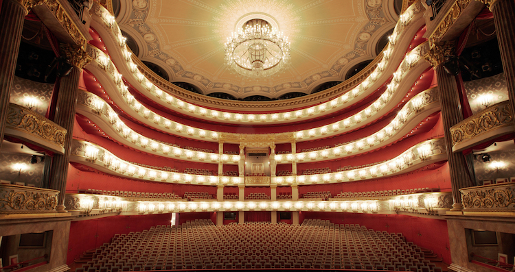 Bayerische Staatsoper, Munich - The Bayerische Staatsoper (Bavarian State Opera) is an opera and ballet house in Munich. It is one of the most prestigious operas in the world. With a 1200-seat hall, it offers each season a rich and eclectic program, with many world premieres.