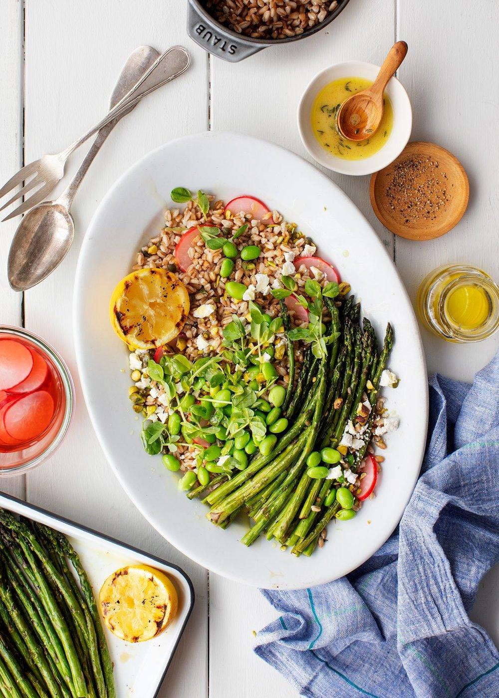 https://www.loveandlemons.com/grilled-asparagus-lemon-thyme-farro-salad/