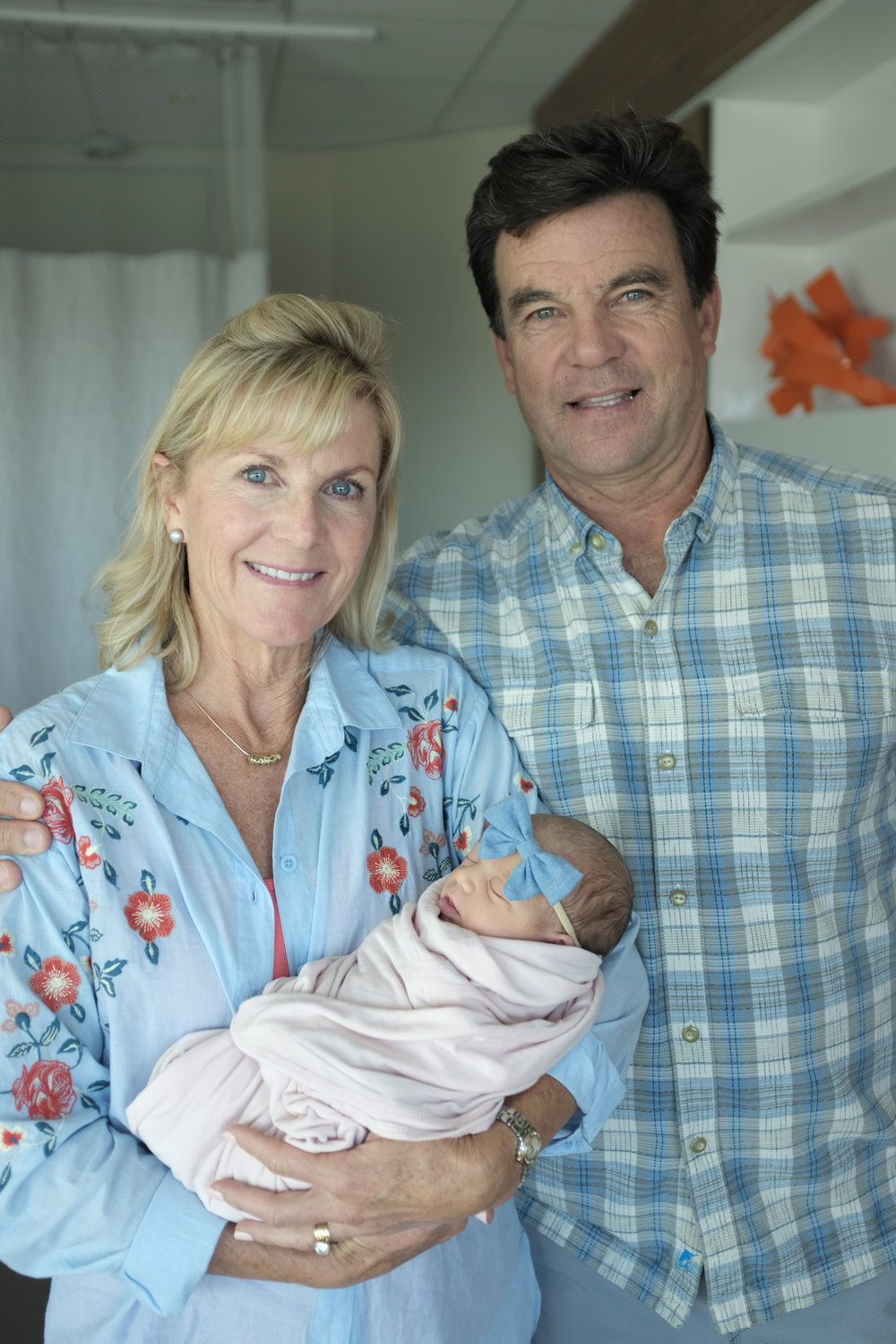 my parents and their first grandbaby!