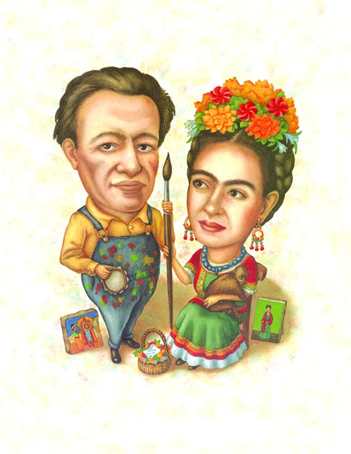 Diego and Frida, Lives of the Artists