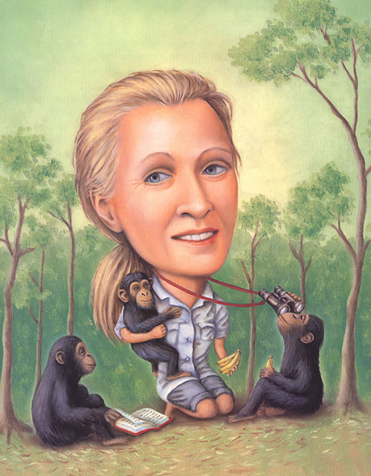 Jane Goodall, Lives of the Scientists