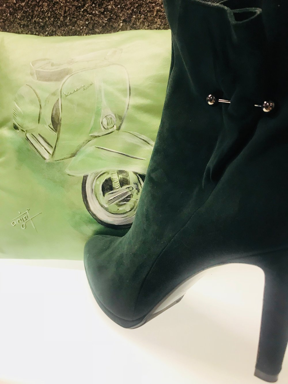 Story von Vespa & High Heels -