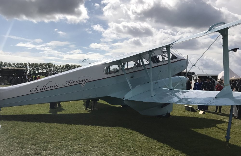 The beautiful Scillonia Airways at Goodwood 2017