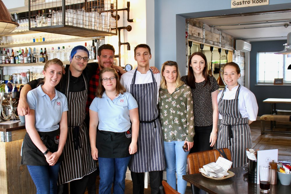 A big thank you to the team (Most seen here) but excludes Lucy, Tina, Annabel, Hannah and Jeremy (And not forgetting Henry whom at late notice held the doors open)