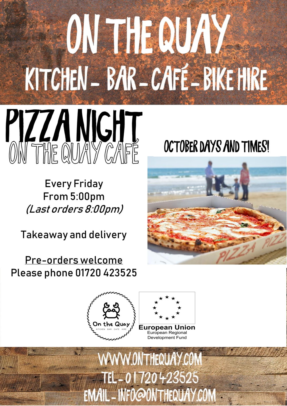 On The Quay Pizza Poster- October-1.jpg