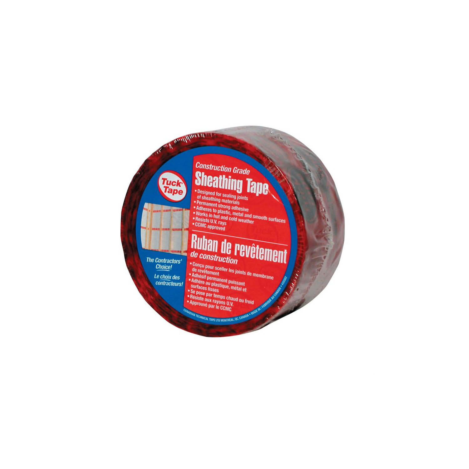 Tuck Tape Red 60 MM X 60 M — The Grow Depot
