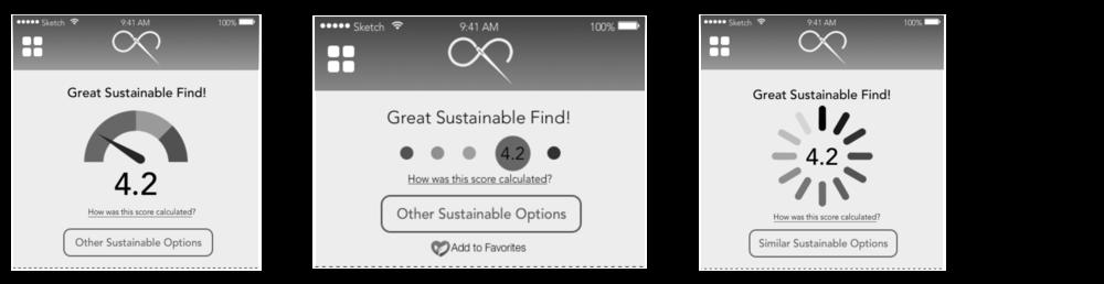 Sustainability Score (Medium Fidelity Iterations)