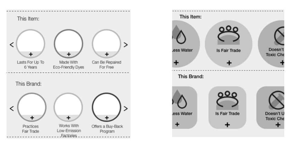Product Information  ( Medium Fidelity Iterations)