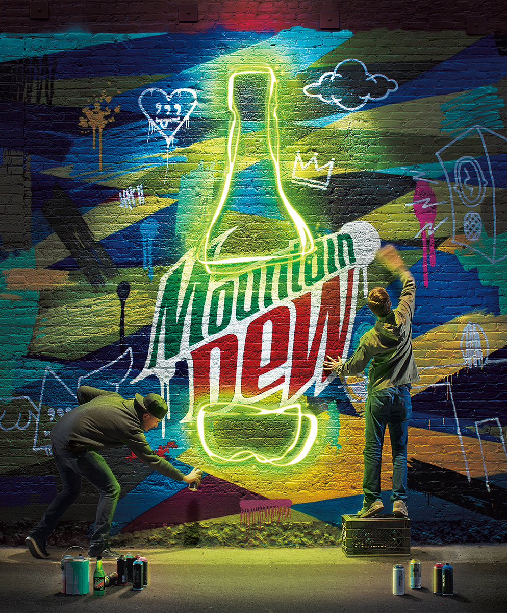 Mountain Dew: Poster