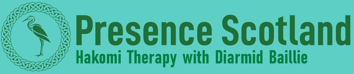 Presence Scotland with Diarmid Baillie. Hakomi mindfulness-based psychotherapy in Edinburgh