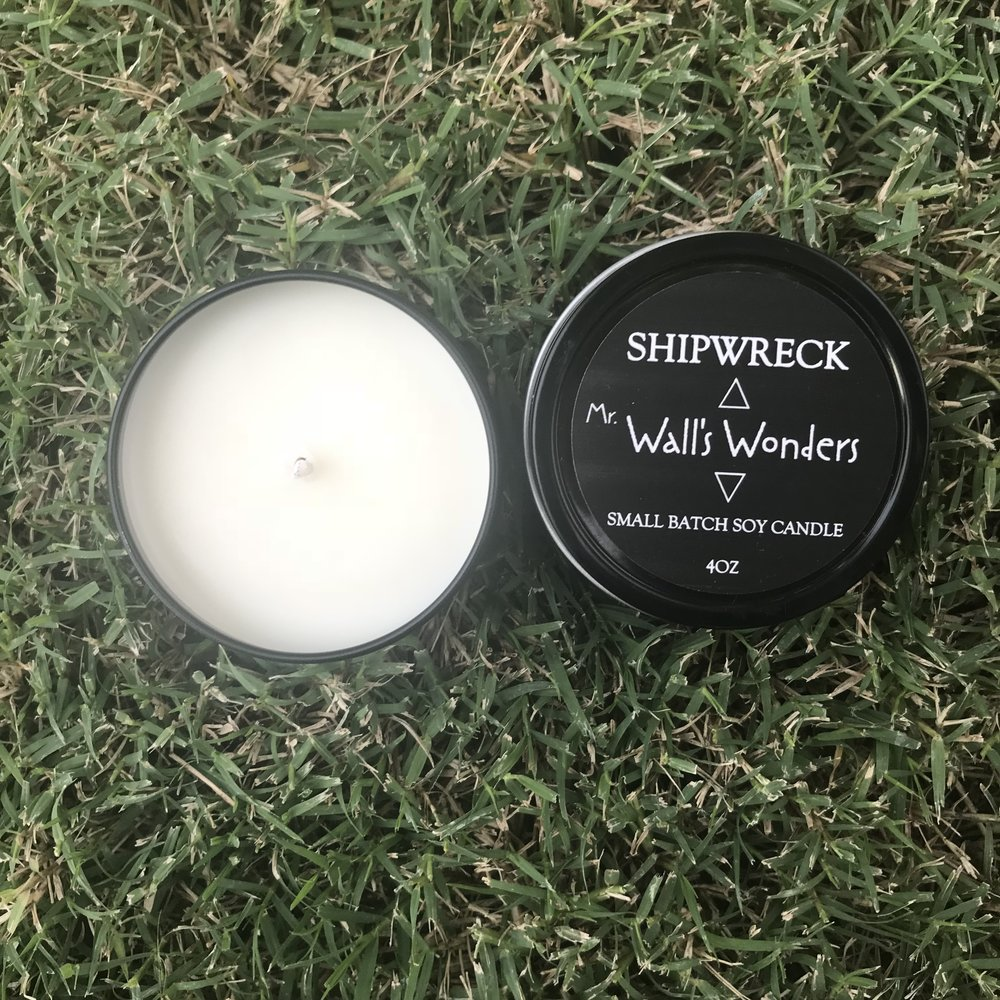 Small Batch Soy Candles Masculine Scents Wall S Wonders