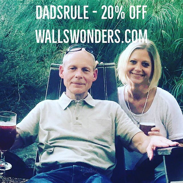 20% OFF with code DADSRULE at WALLSWONDERS.COM now through Father's Day! 😎 Our Mr. Wall's Wonders cologne rollers, travel candles and CBD products will have him smelling & feeling like a million bucks. Order by bedtime Wednesday for guaranteed in-time delivery. . . #fathersday #dadsrule #mangifts #mengifts #fathersdaygifts #handmade #shopsmall #shoplocal #keepmewherethelightis #wallswonders #handmadeinsandiego #handmadeintheusa