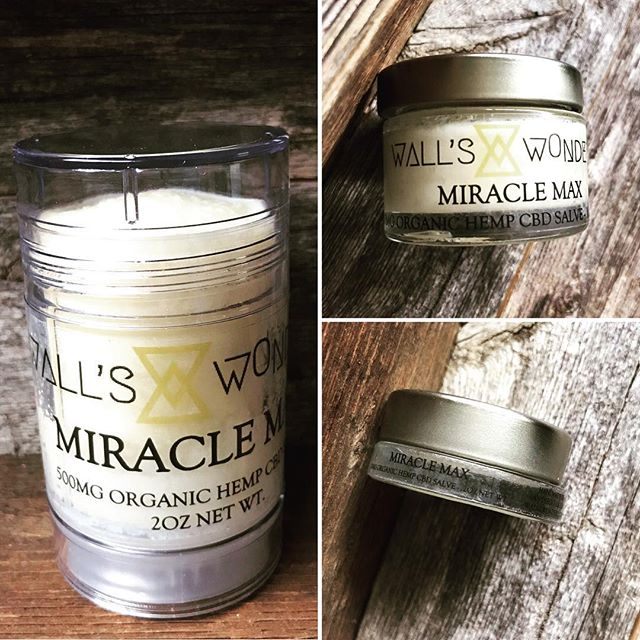 💪🏼NEW STRONGER FORMULA MIRACLE MAX💪🏼 Now available in three new sizes of our strongest formula yet at WALLSWONDERS.COM - 50mg jar, 250mg jar, and 500mg stick! . . Original Miracle Max is 100mg/ounce. New Miracle Max is 250mg/ounce! . . Grab our remaining stock of original strength Miracle Max NOW for 20% OFF only at WALLSWONDERS.COM while supply lasts! . . #miraclemax #wallswonders #salve #keepmewherethelightis #cbdsalve #hempcbd #cocoabutter #frankincense #copaiba #healing #organic #shopsmall #shoplocalsd #handmadeintheusa #handmadeinsandiego #handmadeincalifornia