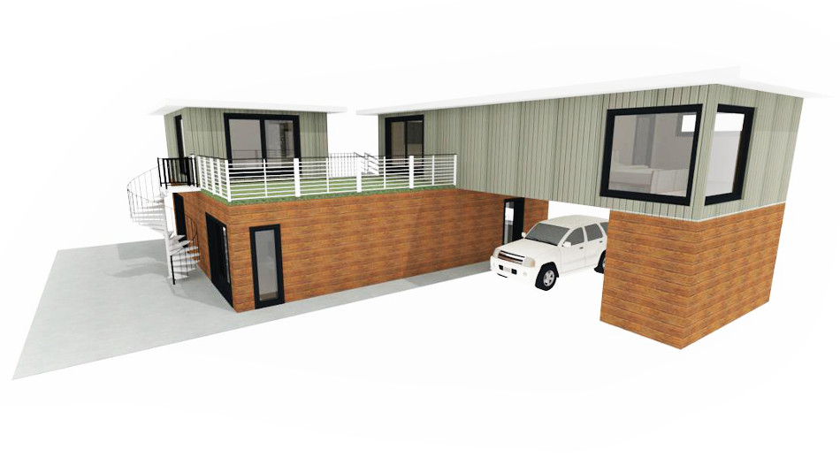 HAVEN Ultra Modern Eco Friendly Prefab Modular Homes by Third