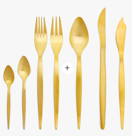 Zara Gold Cutlery $7.90-$9.90 - Buy Here