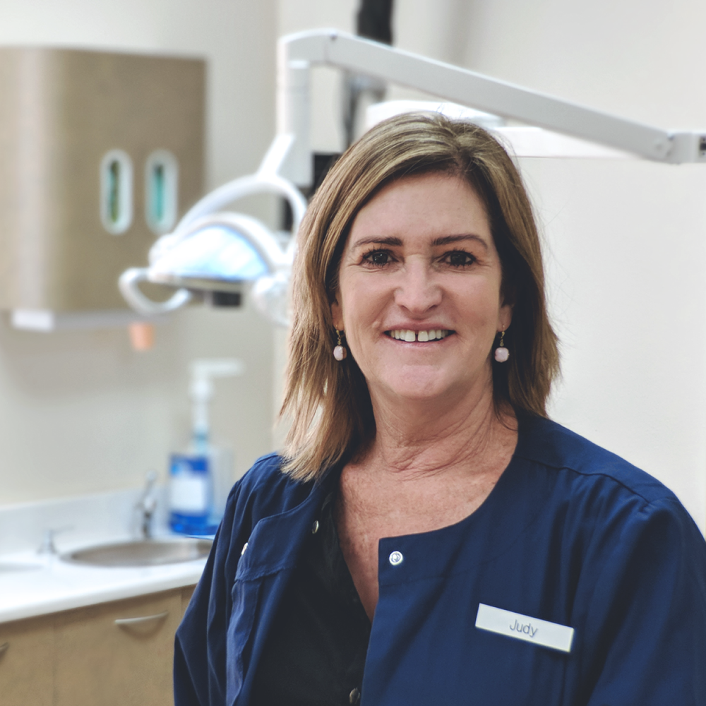 Judy Panacci (Hygienist)   My name is Judy and I love my job!  I've been working with Dr. Hong since 1999.  We have a wonderful staff, and our goal is to provide quality dental work for you while making you feel comfortable and not nervous.  My outside hobbies include tennis, football, and having fun with my two wonderful daughters.  I love educating patients on how to take excellent care of their teeth so that having beautiful and healthy teeth is super easy!