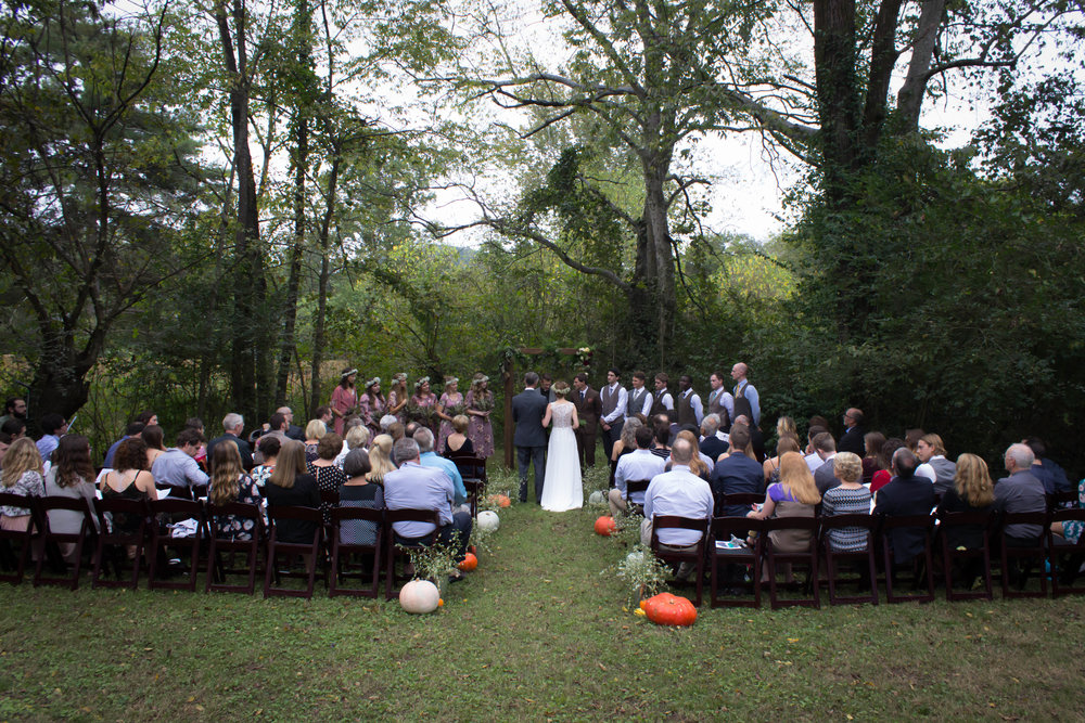 Picturesque Octoberfest wedding!