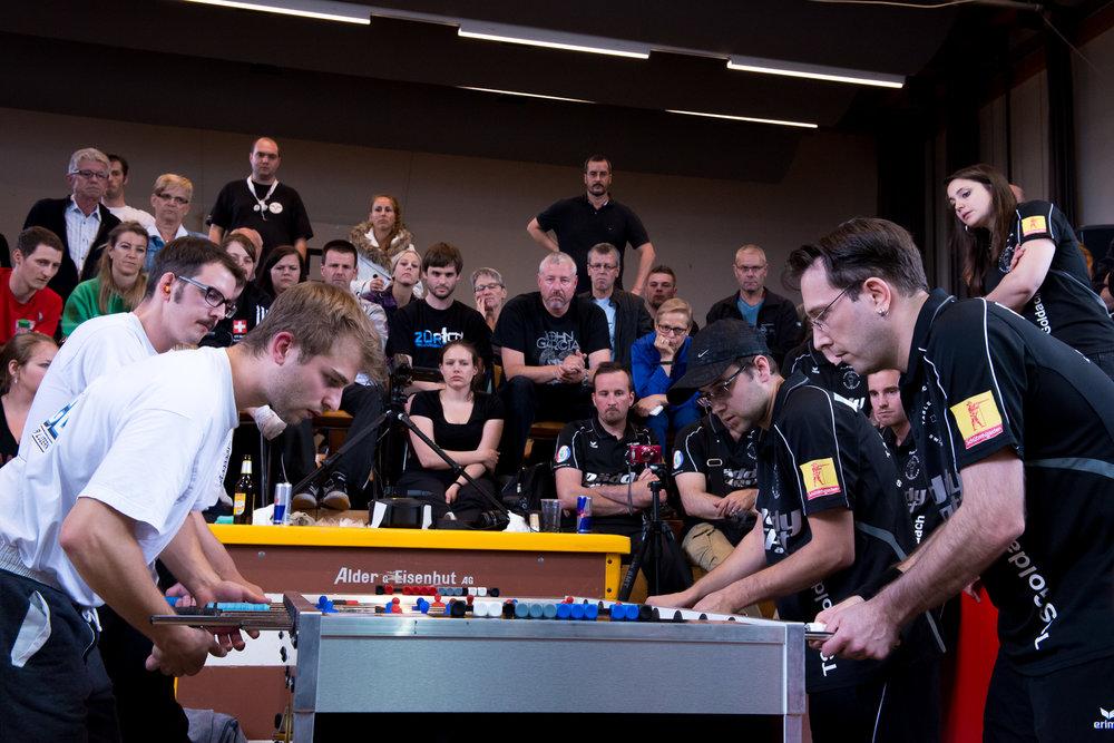 SWISS CHAMPIONSHIPDIE TISCHFUSSBALL-SCHWEIZERMEISTERSCHAFT(nur qualifizierte Spieler) -