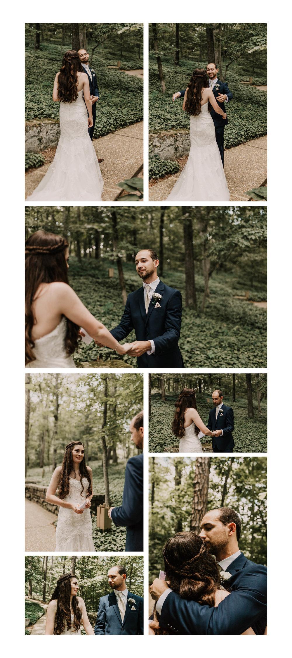 first-look-arkansas-wedding-photographer