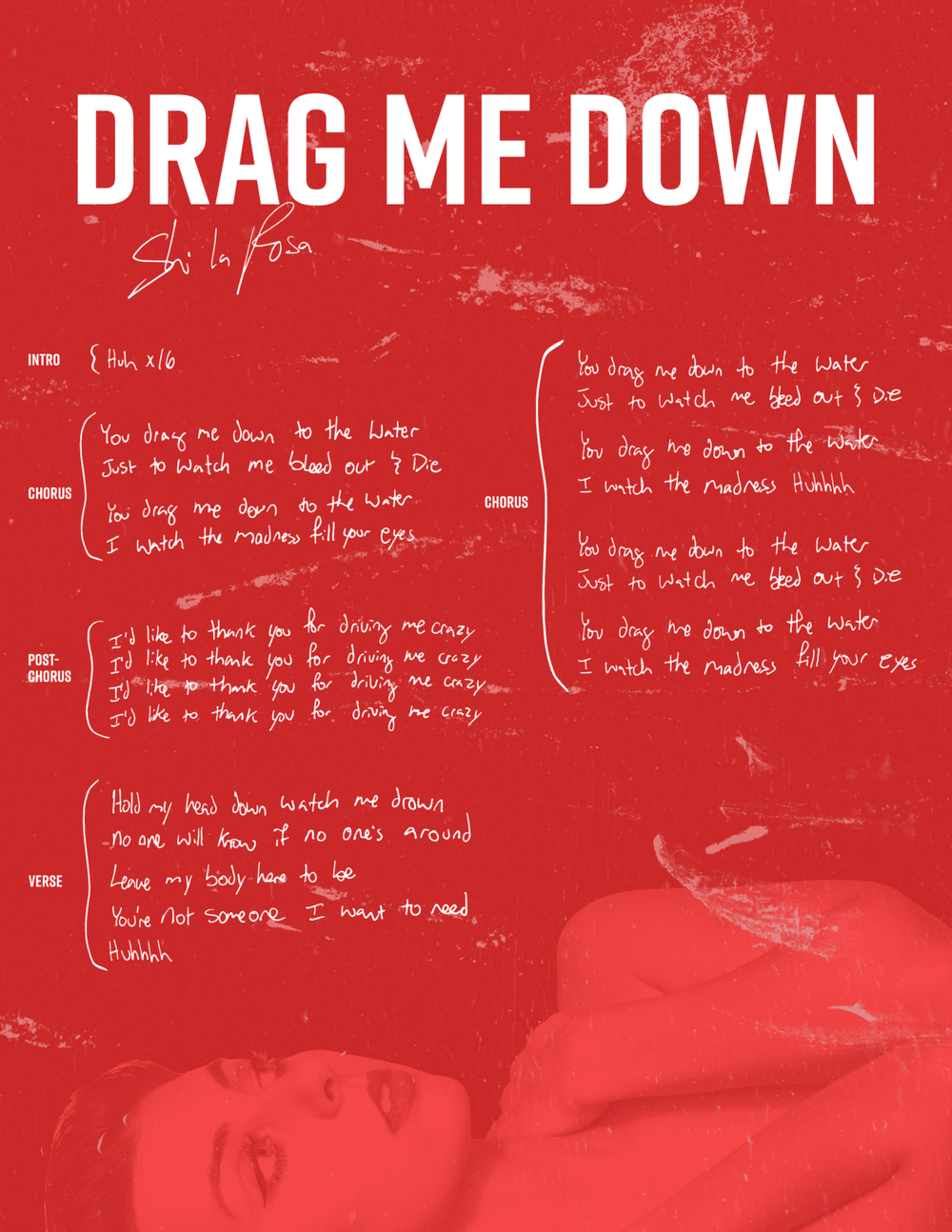 Shi la RosaDrag Me Down_Lyric Sheet copy.png