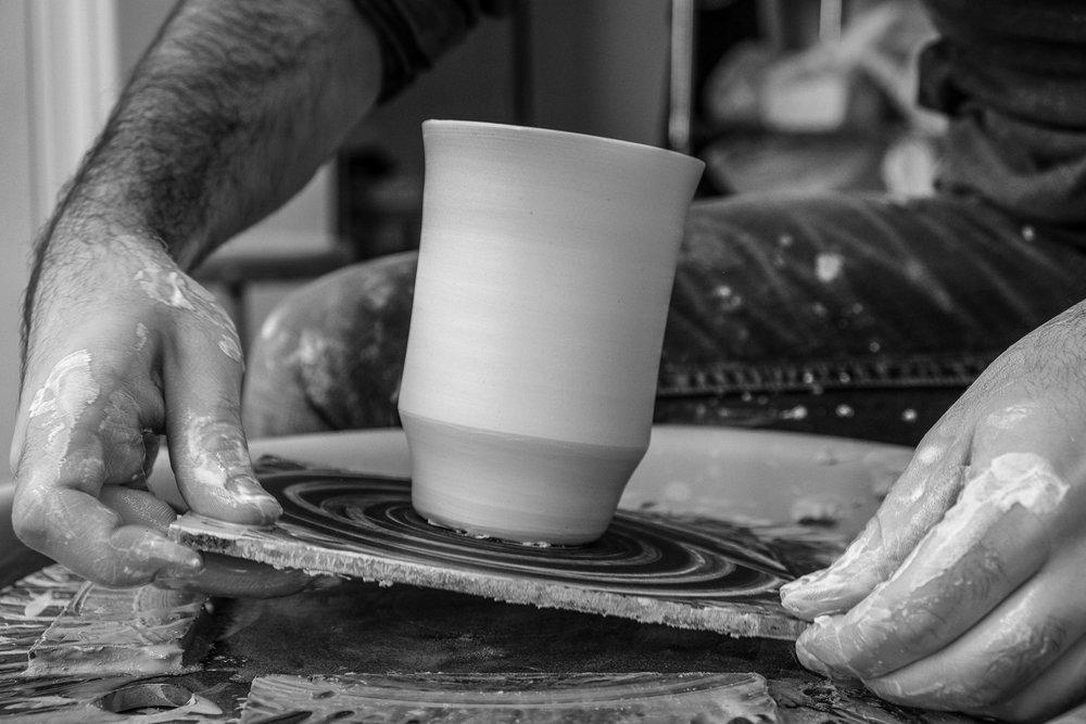 pottery bat