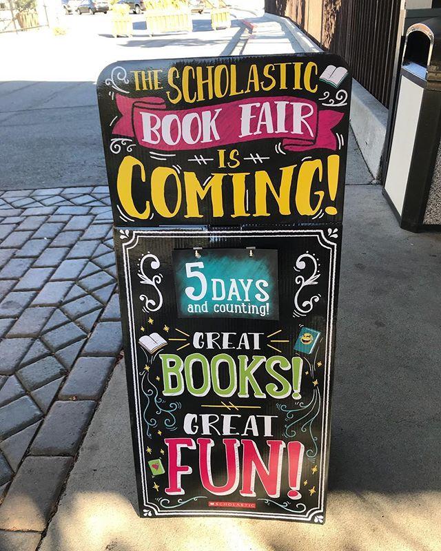 Book Fair!! Next week at Green Valley