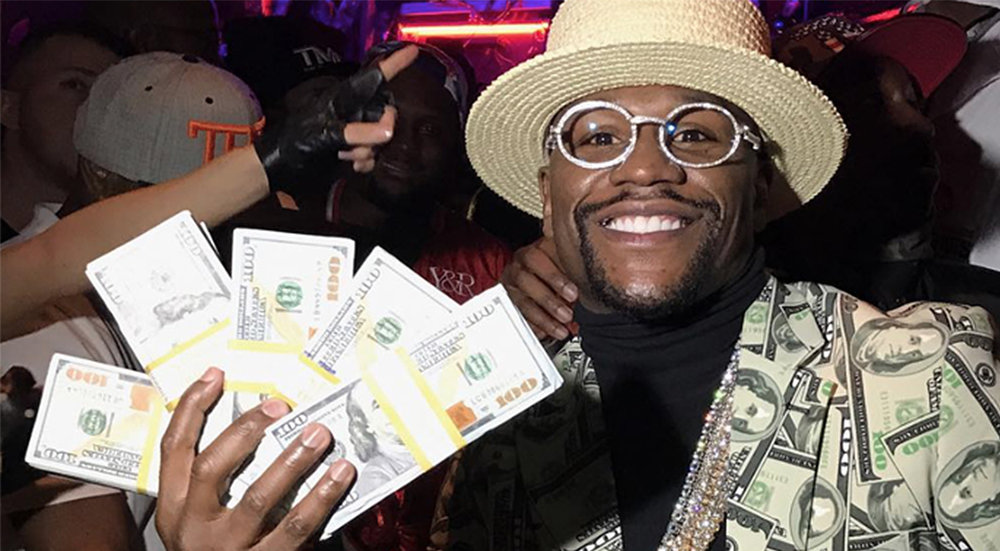 Centra influencer Floyd 'Moneymaker' Mayweather