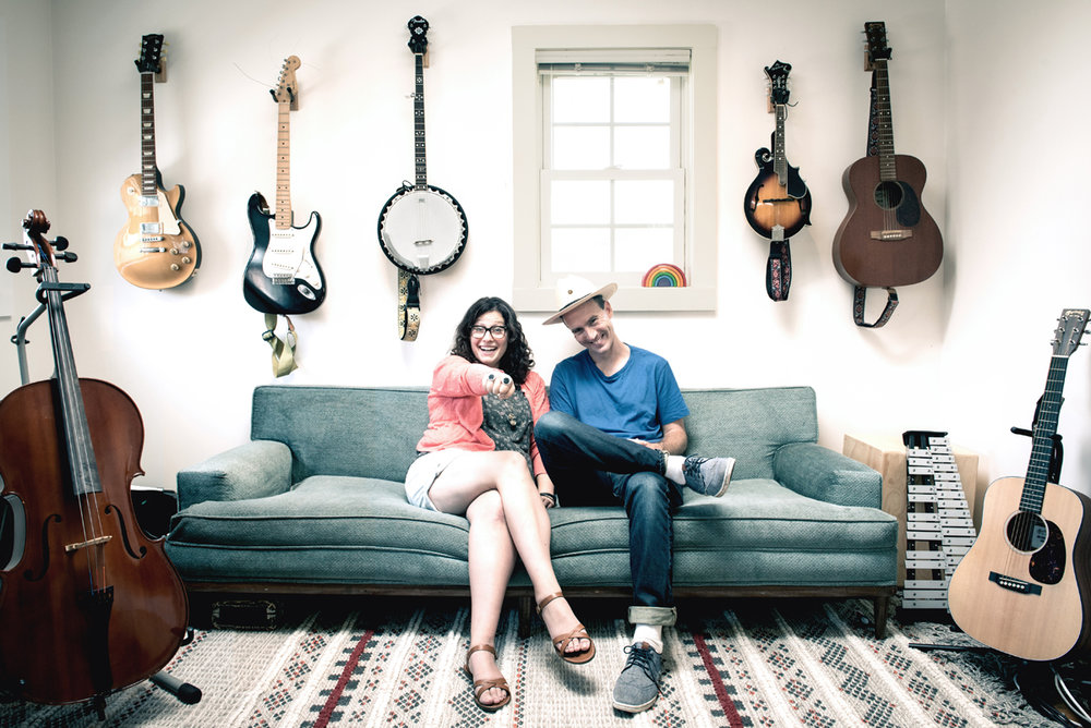 ABOUT ANDREW & POLLY - Andrew & Polly are award-winning music makers and the hosts of Ear Snacks.  Their seriously catchy earworms and inventive re-imaginings  of classic favorites have earned the duo two Parents' Choice Awards and the ASCAP Foundation Joe Raposo Children's Music Award.For more about their music, visit andrewandpolly.com.